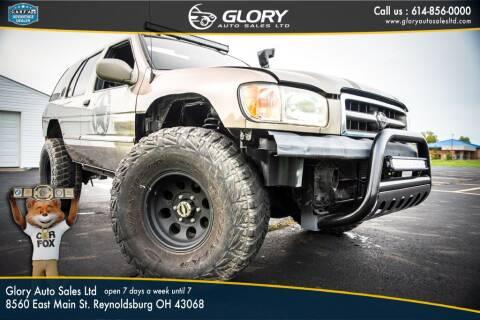 2001 Nissan Pathfinder for sale at Glory Auto Sales LTD in Reynoldsburg OH
