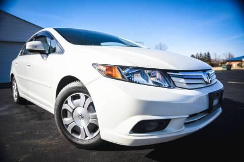2012 Honda Civic for sale at Glory Auto Sales LTD in Reynoldsburg OH