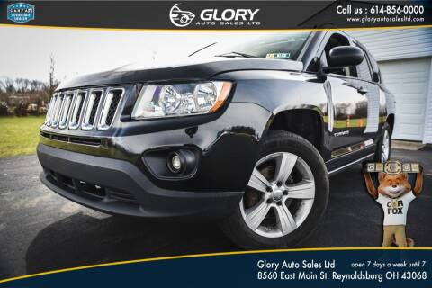 2012 Jeep Compass for sale at Glory Auto Sales LTD in Reynoldsburg OH