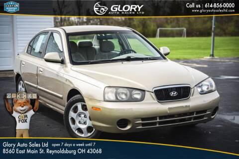 2001 Hyundai Elantra for sale at Glory Auto Sales LTD in Reynoldsburg OH