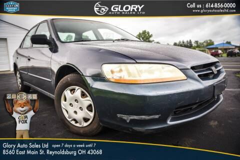 1998 Honda Accord for sale at Glory Auto Sales LTD in Reynoldsburg OH
