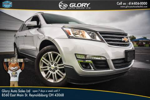 2013 Chevrolet Traverse for sale at Glory Auto Sales LTD in Reynoldsburg OH