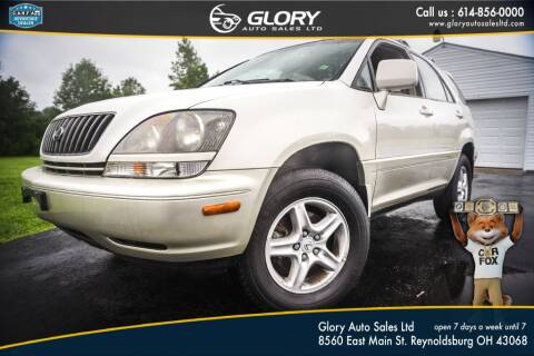 2000 Lexus RX 300 for sale at Glory Auto Sales LTD in Reynoldsburg OH
