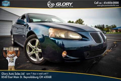 2006 Pontiac Grand Prix for sale at Glory Auto Sales LTD in Reynoldsburg OH