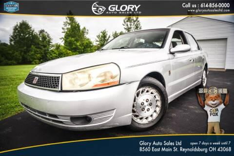 2004 Saturn L300 for sale at Glory Auto Sales LTD in Reynoldsburg OH