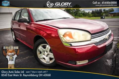 2004 Chevrolet Malibu Maxx for sale at Glory Auto Sales LTD in Reynoldsburg OH