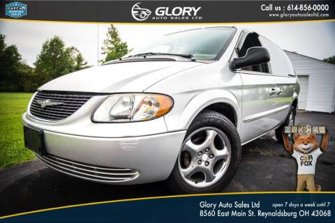 2002 Chrysler Town and Country for sale at Glory Auto Sales LTD in Reynoldsburg OH