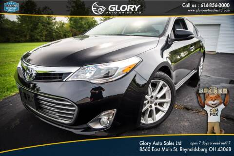 2013 Toyota Avalon for sale at Glory Auto Sales LTD in Reynoldsburg OH