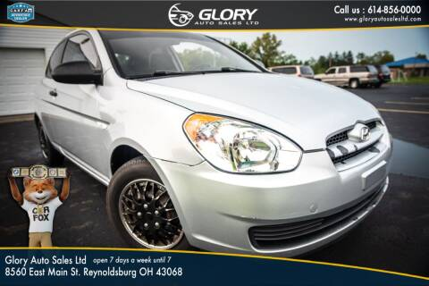 2008 Hyundai Accent for sale at Glory Auto Sales LTD in Reynoldsburg OH