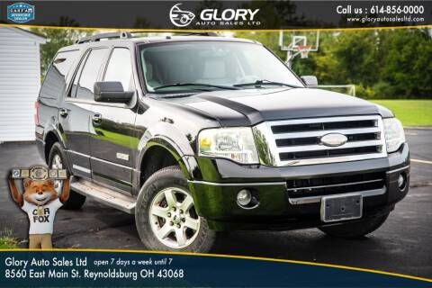 2008 Ford Expedition for sale at Glory Auto Sales LTD in Reynoldsburg OH