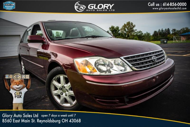 2004 Toyota Avalon for sale at Glory Auto Sales LTD in Reynoldsburg OH