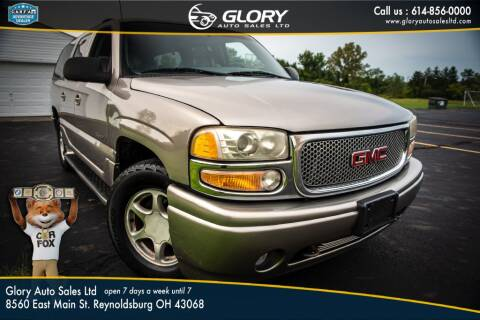 2001 GMC Yukon XL for sale at Glory Auto Sales LTD in Reynoldsburg OH