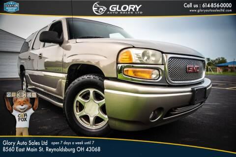 2001 GMC Yukon XL for sale at Glory Auto Sales LTD in Reynoldsburg OH