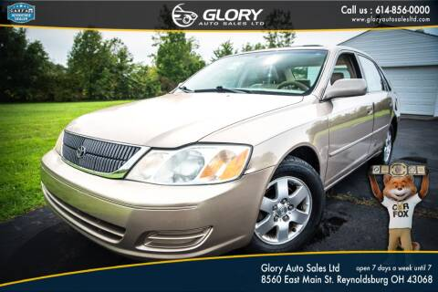 2002 Toyota Avalon for sale at Glory Auto Sales LTD in Reynoldsburg OH