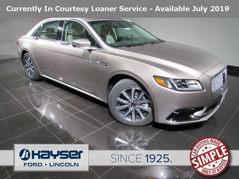 2019 Lincoln Continental for sale in Madison, WI