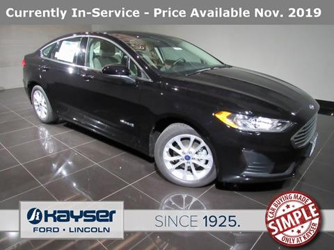 2019 Ford Fusion Hybrid for sale in Madison, WI