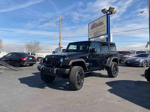 2014 Jeep Wrangler Unlimited for sale in Reno, NV