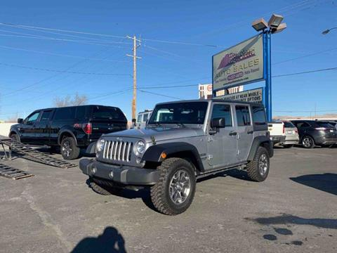 2015 Jeep Wrangler Unlimited for sale in Reno, NV