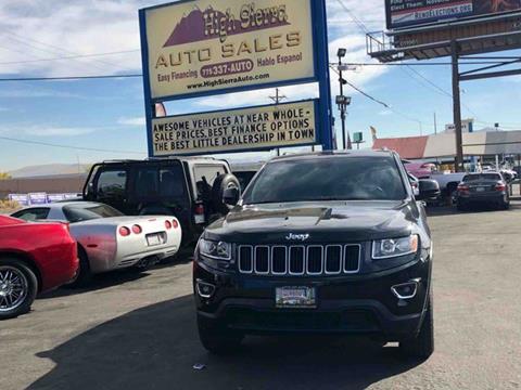2015 Jeep Grand Cherokee for sale in Reno, NV
