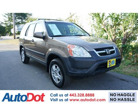2003 Honda CR-V for sale in Sykesville, MD
