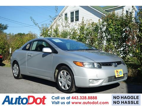 2008 Honda Civic for sale in Sykesville, MD