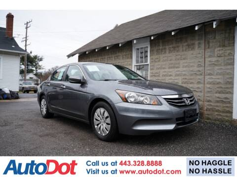 2011 Honda Accord For Sale >> Used 2011 Honda Accord For Sale In Maryland Carsforsale Com