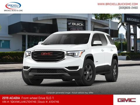2019 GMC Acadia for sale in Miami, FL