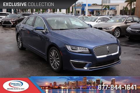 2018 Lincoln MKZ for sale in Miami, FL