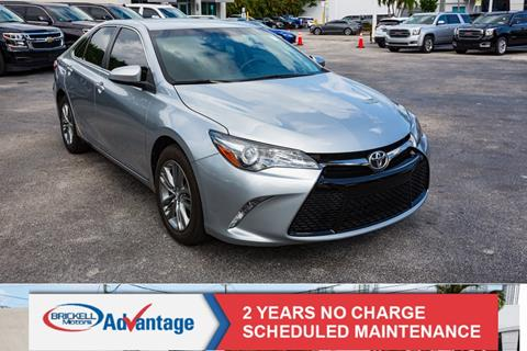 2017 Toyota Camry for sale in Miami, FL