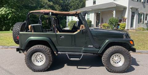 1998 Jeep Wrangler for sale in Woodbury, CT