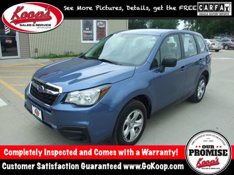 2017 Subaru Forester for sale in Vinton, IA