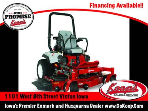 Exmark Radius S-Series 60'' for sale at Koop's Sales and Service in Vinton IA