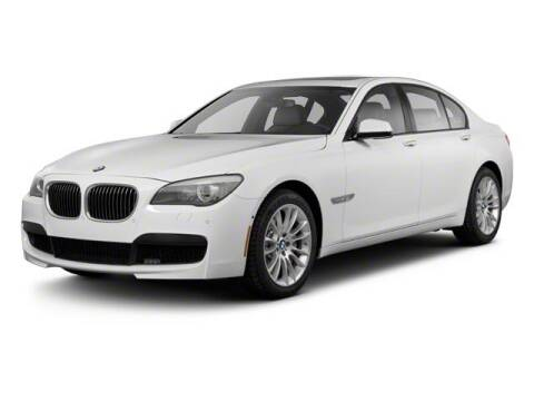2012 BMW 7 Series 750Li xDrive for sale at BMW OF ORLAND PARK in Orland Park IL