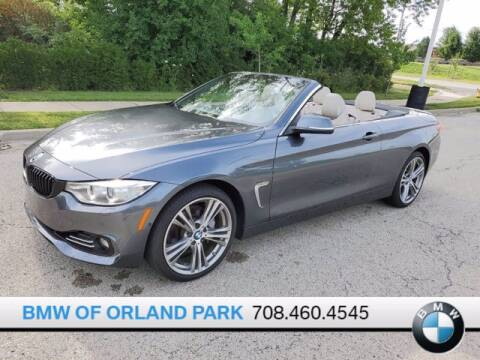 2017 BMW 4 Series for sale at BMW OF ORLAND PARK in Orland Park IL