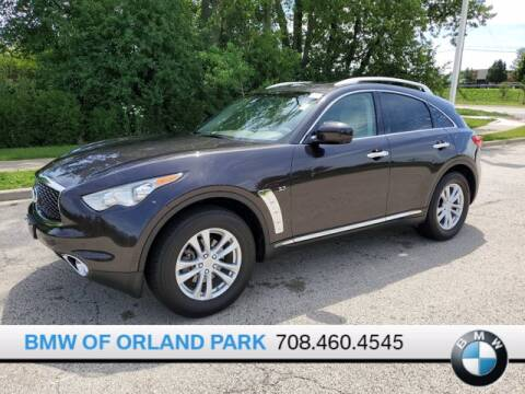2017 Infiniti QX70 for sale at BMW OF ORLAND PARK in Orland Park IL