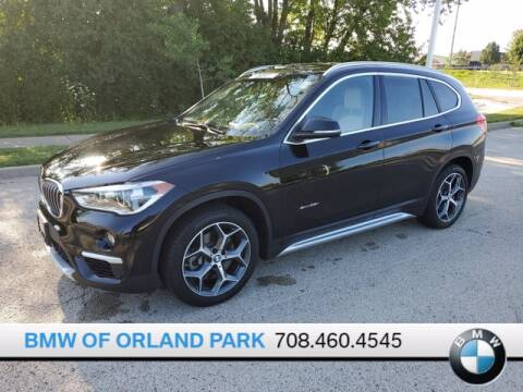 2017 BMW X1 for sale at BMW OF ORLAND PARK in Orland Park IL