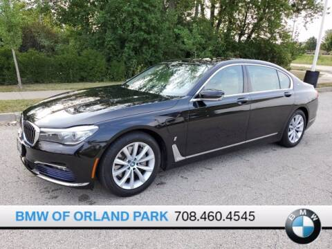 2017 BMW 7 Series for sale at BMW OF ORLAND PARK in Orland Park IL