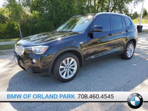 2016 BMW X3 for sale at BMW OF ORLAND PARK in Orland Park IL