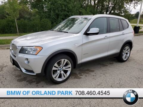 2014 BMW X3 for sale at BMW OF ORLAND PARK in Orland Park IL