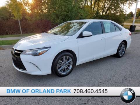 2016 Toyota Camry for sale at BMW OF ORLAND PARK in Orland Park IL