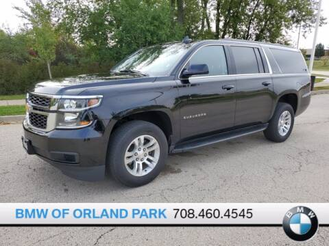 2019 Chevrolet Suburban for sale at BMW OF ORLAND PARK in Orland Park IL