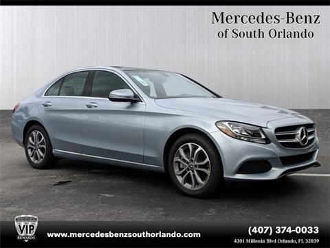 2018 Mercedes-Benz C-Class for sale in Orlando, FL