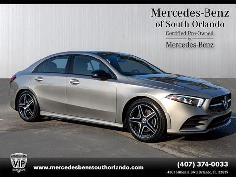 2019 Mercedes-Benz A-Class for sale in Orlando, FL