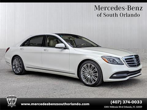 2019 Mercedes-Benz S-Class for sale in Orlando, FL