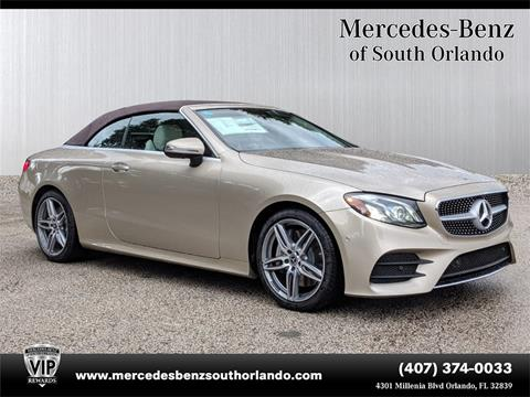 2019 Mercedes-Benz E-Class for sale in Orlando, FL