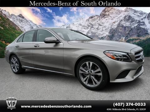 2020 Mercedes-Benz C-Class C 300 for sale at MERCEDES BENZ OF SOUTH ORLANDO in Orlando FL