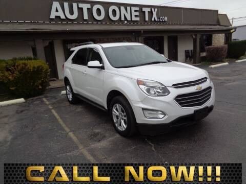2016 Chevrolet Equinox LT for sale at Auto One in Arlington TX