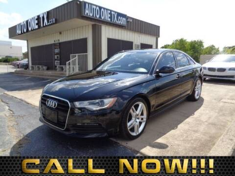 2015 Audi A6 2.0T Premium for sale at Auto One in Arlington TX
