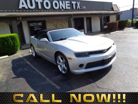 2015 Chevrolet Camaro LT for sale at Auto One in Arlington TX