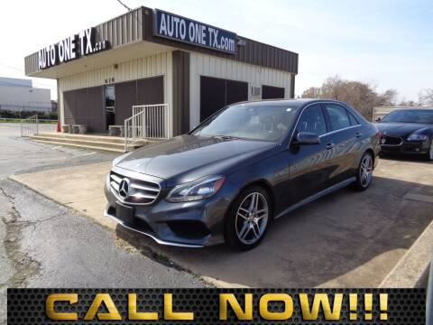 2014 Mercedes-Benz E-Class for sale at Auto One in Arlington TX